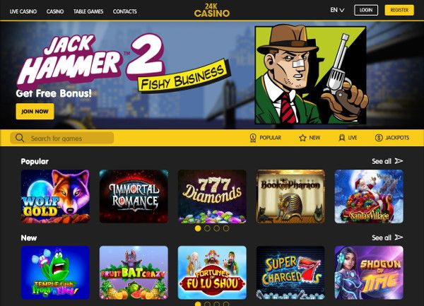24k Casino Review