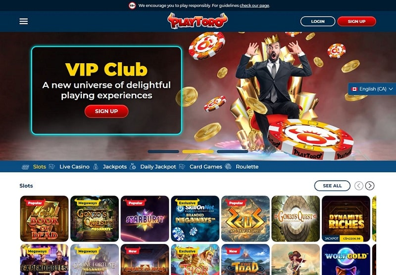 PlayToro Casino Review